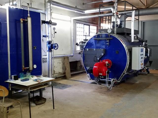 rekonstrukce parní kotelny - Narex Bystřice