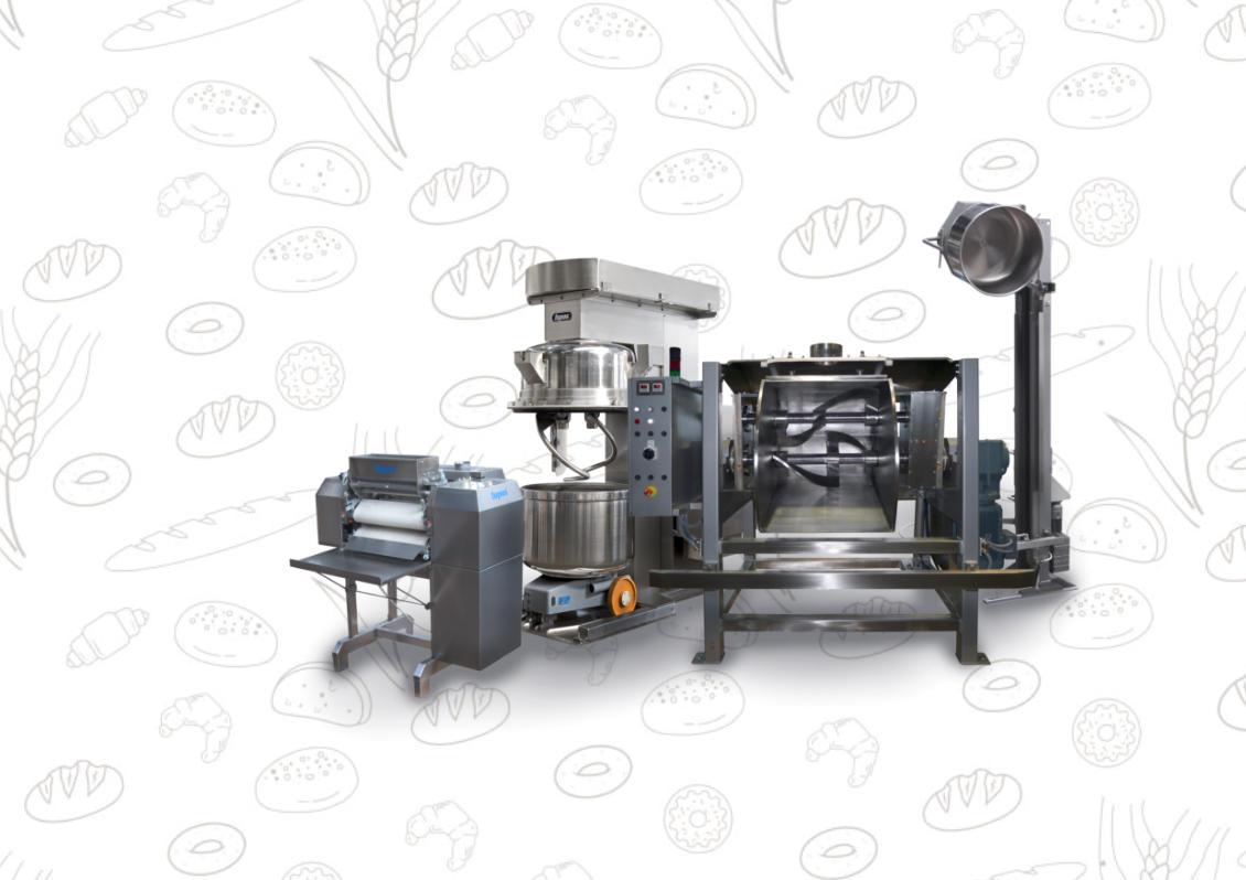 Stroje technologických celků pro potravinářské provozy Šluknov
