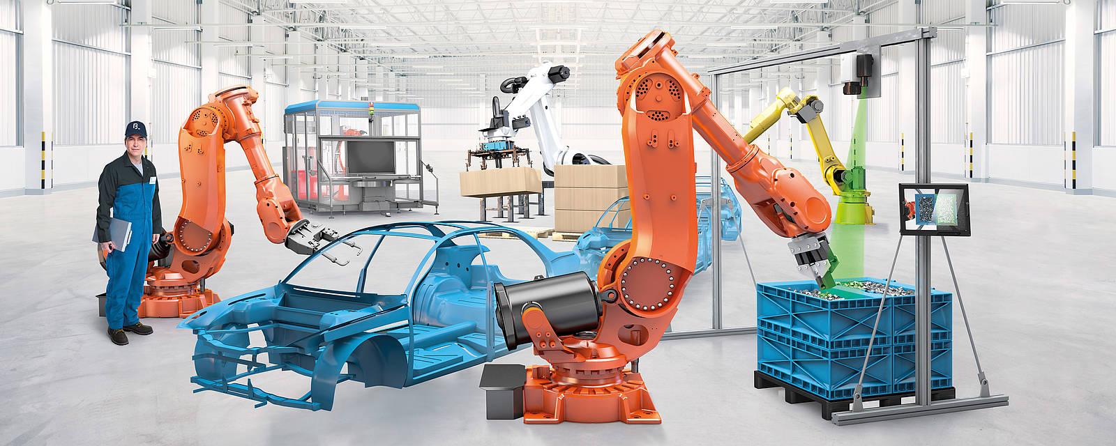 Zakázková robotická řešení na míru Vašim požadavkům
