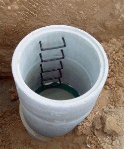 Betonové studny různých průměrů