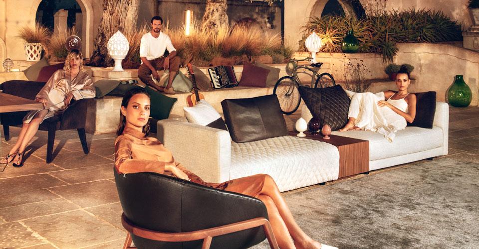 Objevte novou kolekci pohovek a sedacích souprav Natuzzi Italia se slevou 15%