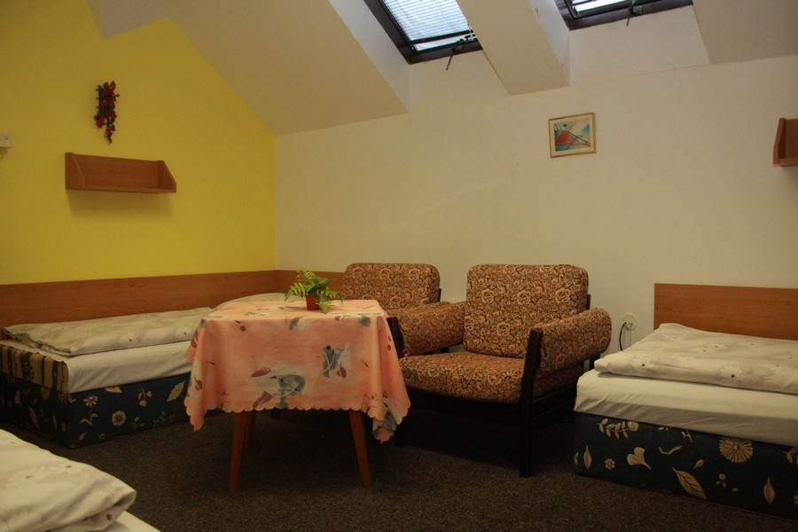 Pohodlné ubytování na ubytovně v Rouchovanech