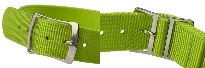 Nylonové náramky pre RFID hodinky - kombinácia s rôznymi druhmi bezkontaktných, vstupných čipov, Česká republika