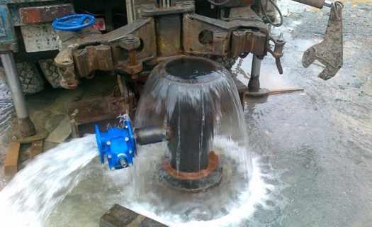 Vrty pro domovní studny, kompletní studnařské práce, čištění zdrojů vody pro obce