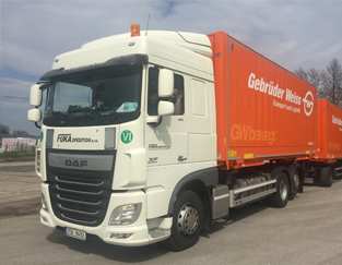 FUKA SPEDITION, s.r.o., kamionová autodoprava nákladů, v ČR i zahraničí