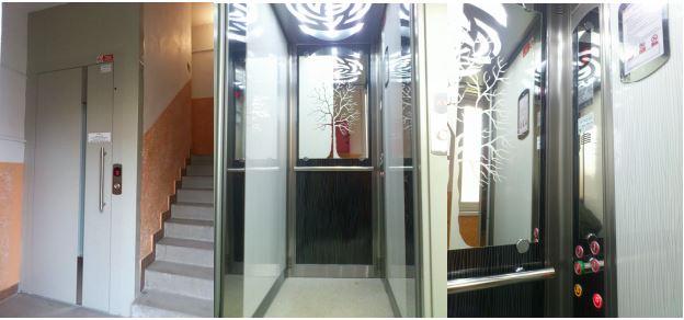 Instalace nového výtahu do panelového domu, kde výtah dosud nebyl – záruční i pozáruční servis