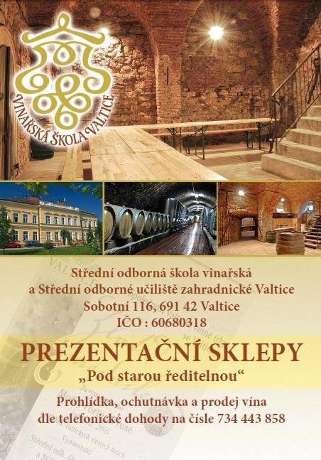 Vinné sklepy Valtice, řízené degustace, ubytování Valtice
