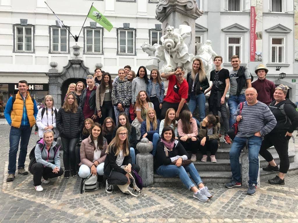 Gymnázium a SOŠE Kaplice - zahraniční zájezdy