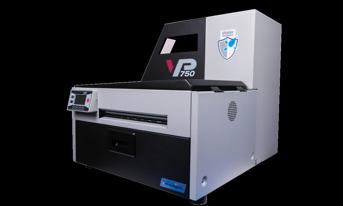 Tiskárna etiket VP750 - vylepšená odolnost proti vodě