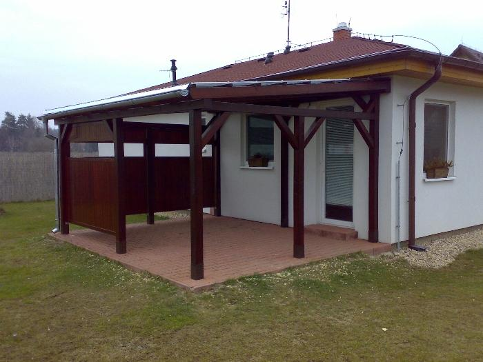Výroba dřevěných pergol, zahradních domků, teras i zábradlí