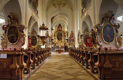 Kanonie premonstrátů v Želivě, kostel Narození Panny Marie, ubytování v hotelu