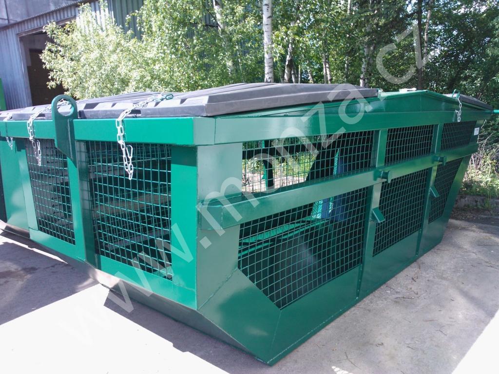 Výroba ocelových kontejnerů - vanové, odpadové kontejnery Mulden