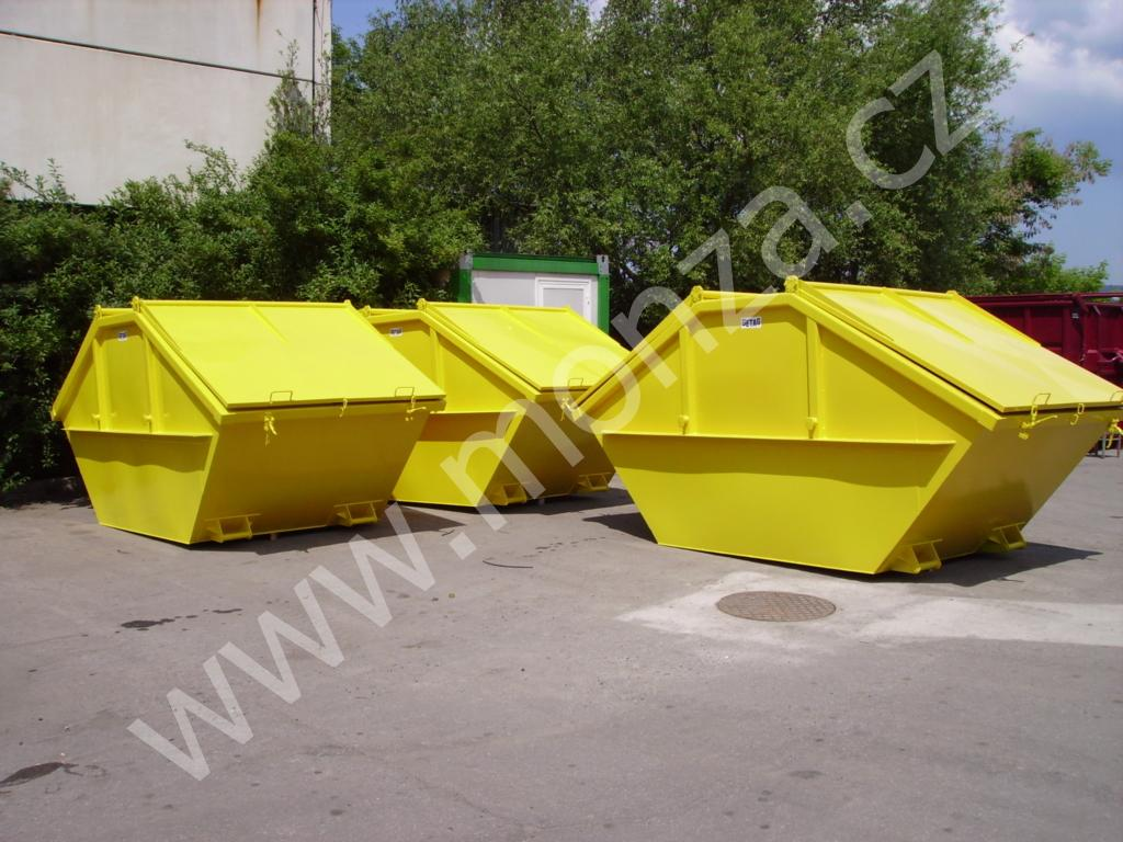 kontejnery Mulden SDS s víky