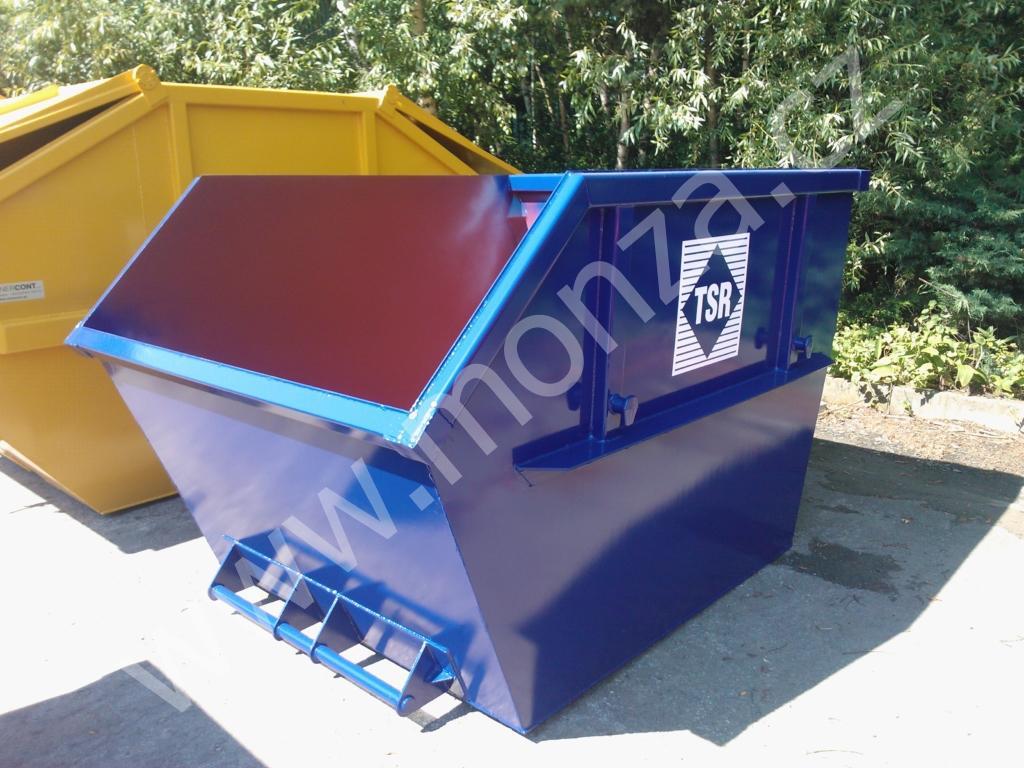 muldy - malé kontejnery s objemem 2-4 cbm