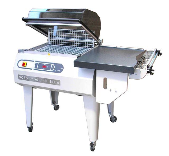 Balicí stroj do teplem smrštitelné fólie SC 55