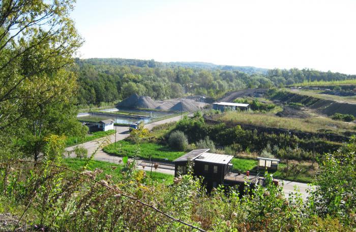 Areál COZ - likvidace a využití nebezpečných odpadů Ostrava