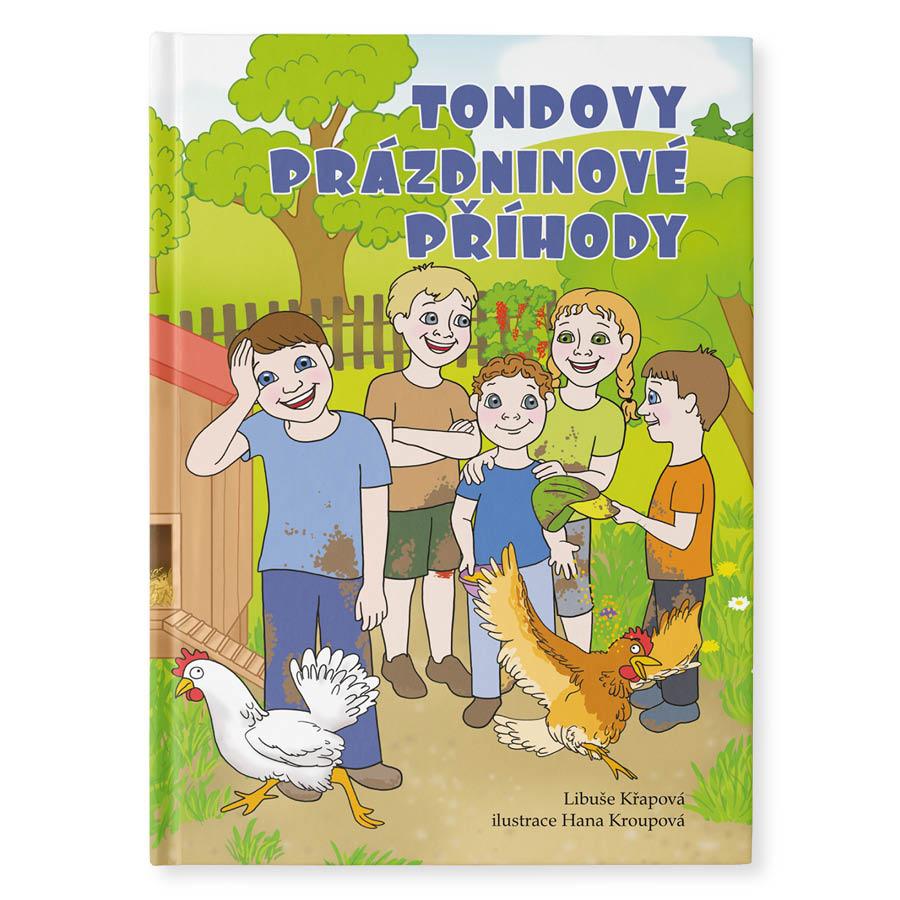 Výroba originálních, dárkových knih pro děti - personalizované, osobní knihy na míru