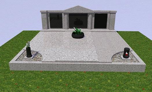 Modernizace hrobů a pomníků