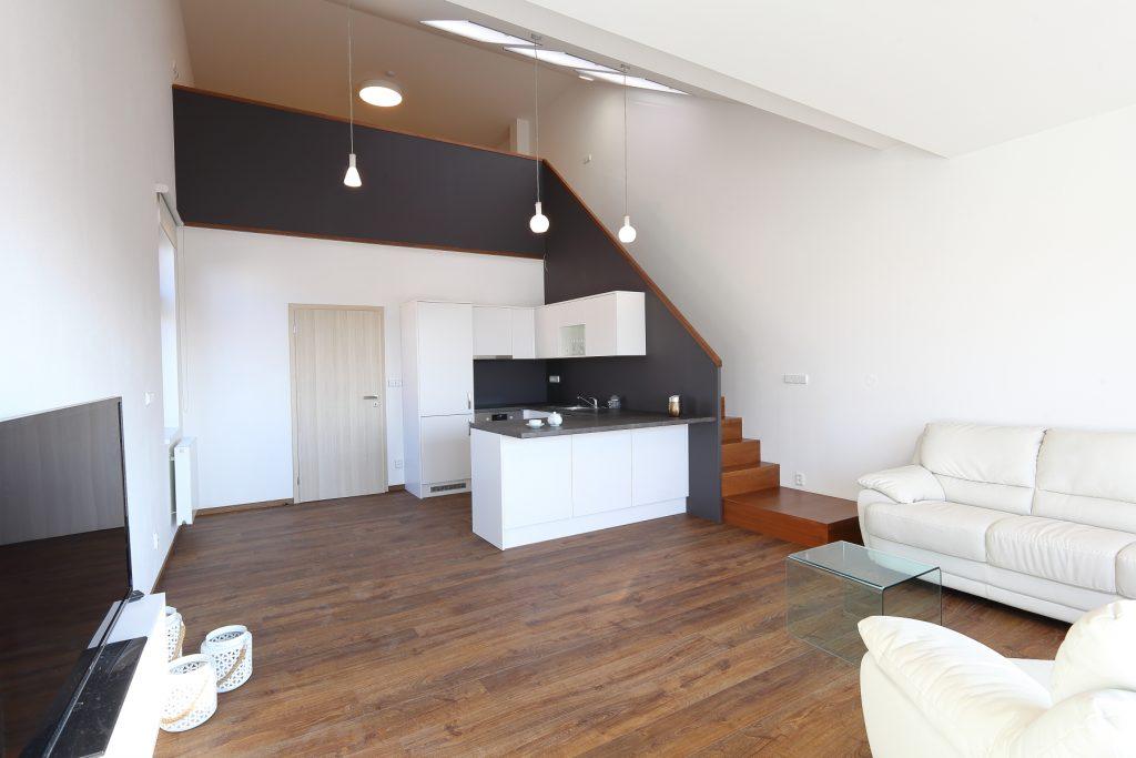 loftový byt - luxusní ubytování v hotelu Holešov