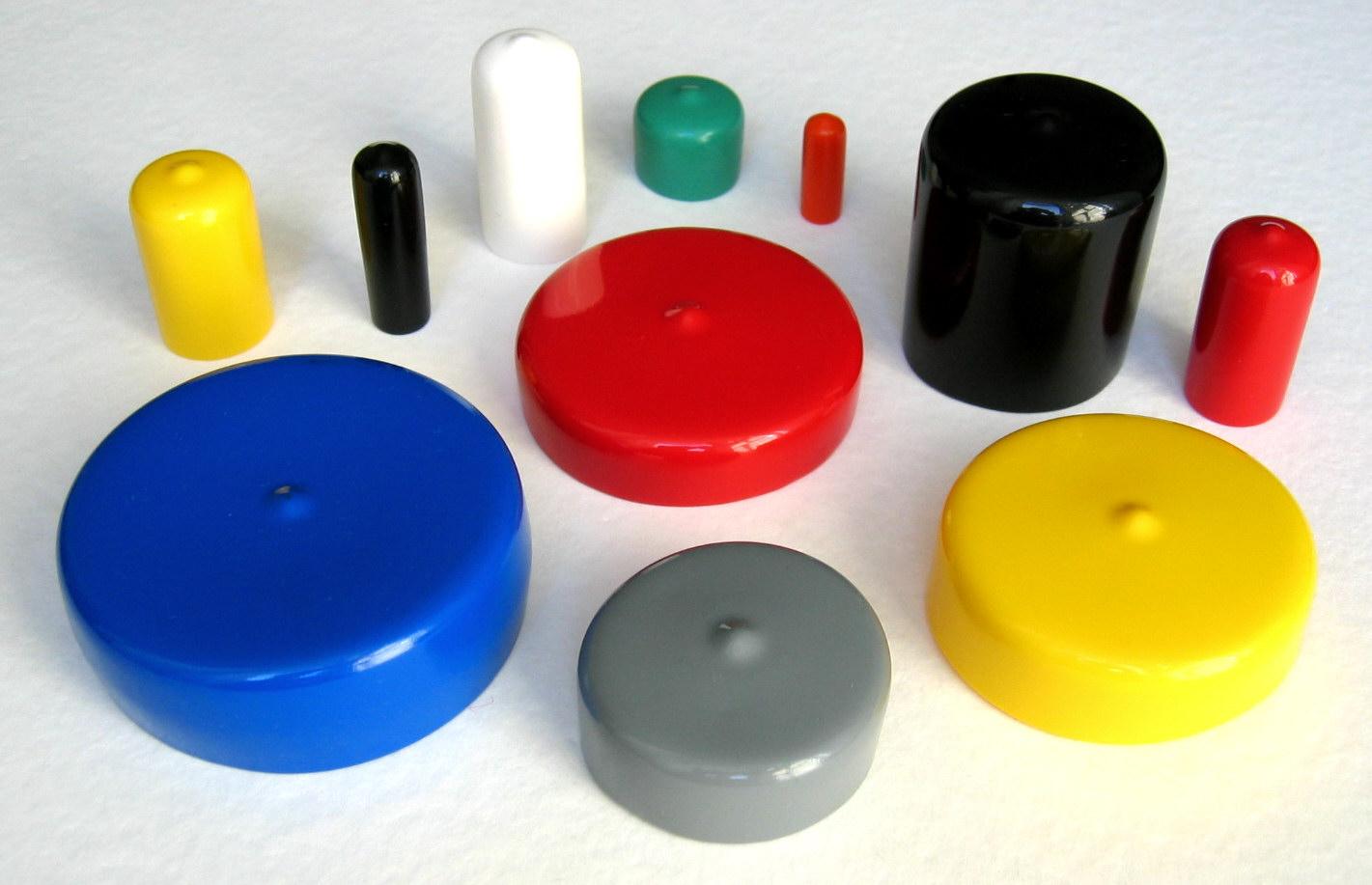 Ochranné plastové krytky a uzávěry, povrchová úprava plastů pro kovové díly, kvalitní materiály
