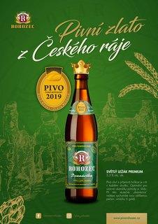 Pivo České republiky 2019 – Ocenění Rohozecký Podskalák 2019