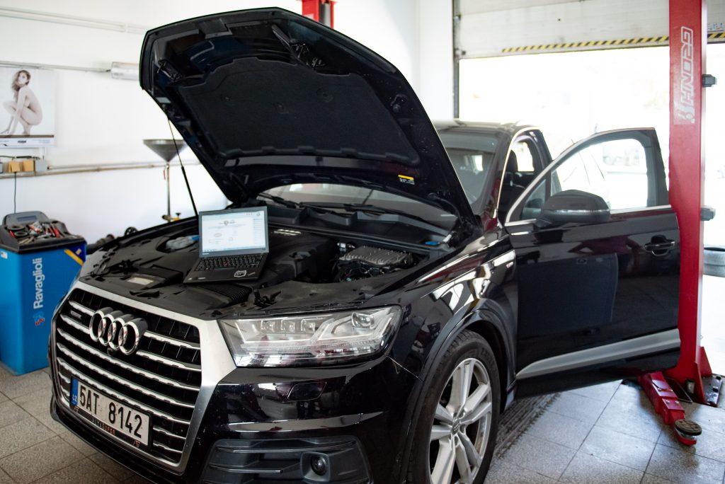 Opravy a výměny filtrů pevných částic – osobní a nákladní automobily, stavební stroje