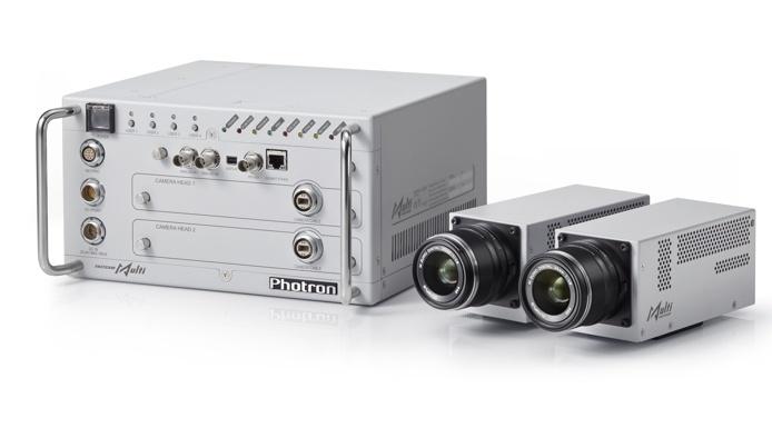 Vysokorychlostní kamery Photron: řada miniaturních kamer Fastcam Multihead