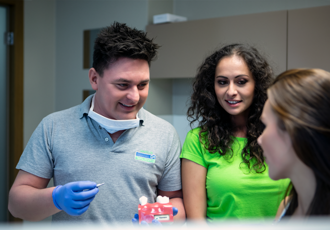 Ošetření nemocných zubů