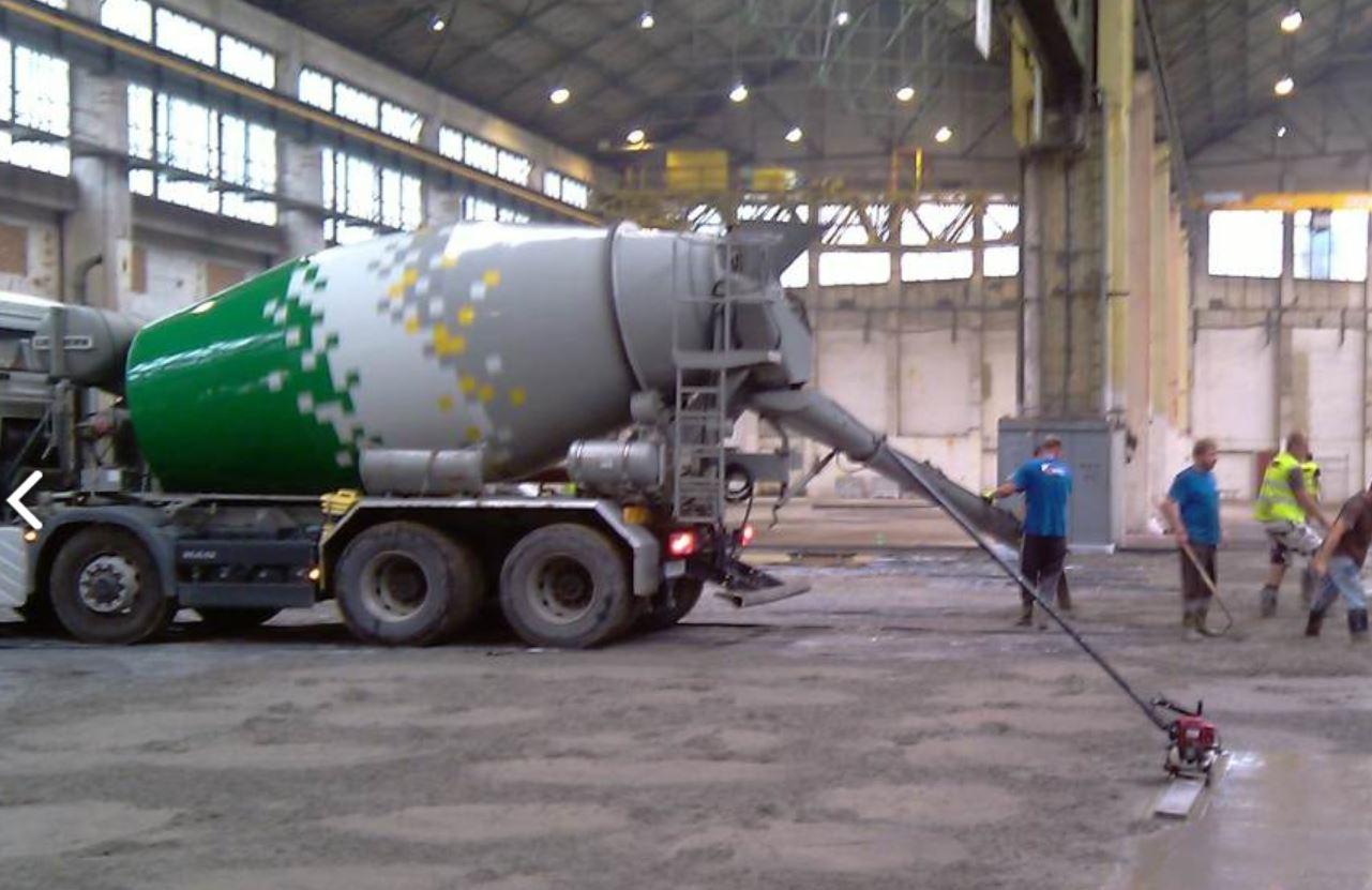 Opravy betonových podlah