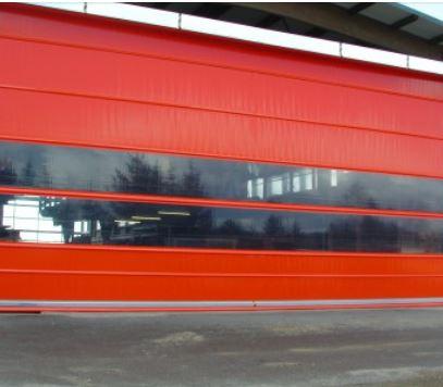 Elektrická vrata maximálních rozměrů a masivní konstrukce - výroba