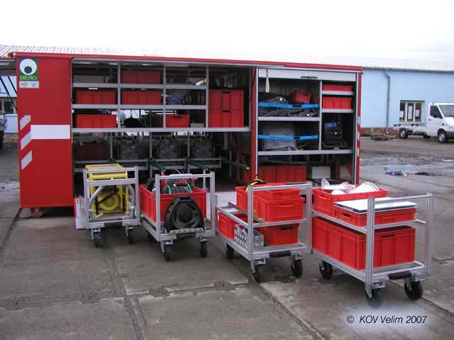 Výroba speciálních nástaveb Kolín - nástavby pro užitková vozidla
