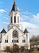 Obec Dlouhá Třebová, kostel sv. Prokopa, kaple, památník, turistické trasy