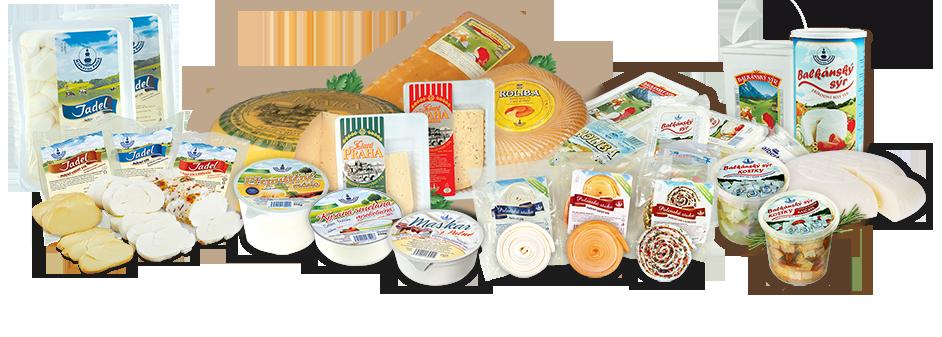 Sýrové speciality z Mlékárny Polná, Balkánský sýr, pařený sýr Jadel, smetanový sýr Maskar