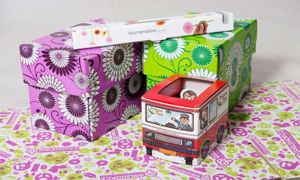 Prodej a výroba dekoračních krabic na zabalení dárků a uskladnění věcí