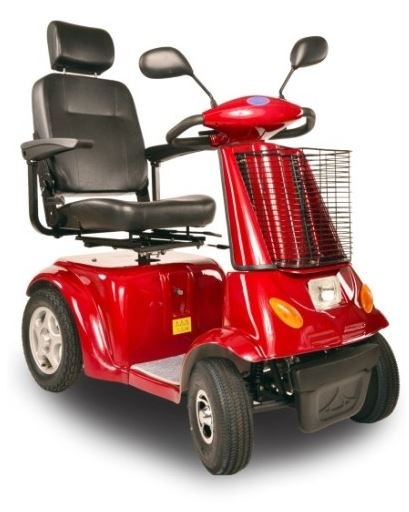 Elektrický vozík pro seniory a lidi s pohybovými obtížemi