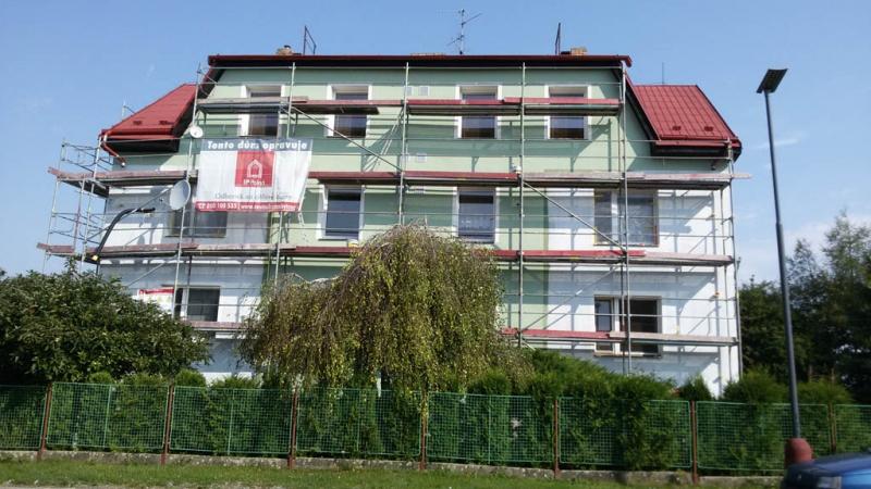Lešení na budovy