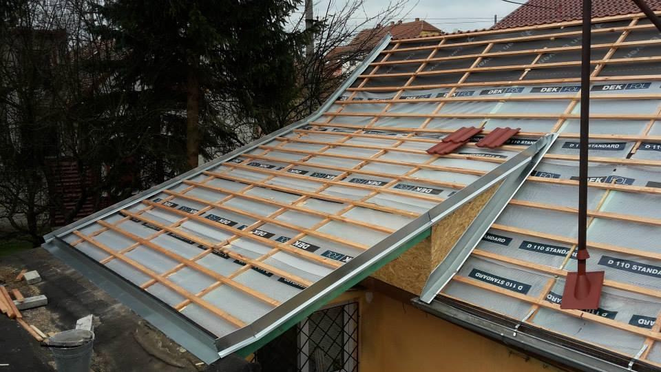 Rekonstrukce a opravy střech, zateplení i průmyslové izolace