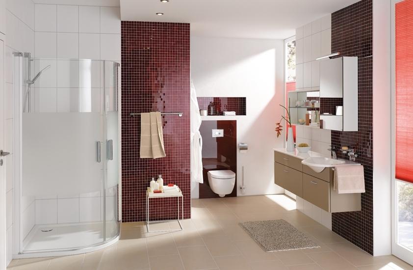 Koupelnové produkty se snadnou údržbou