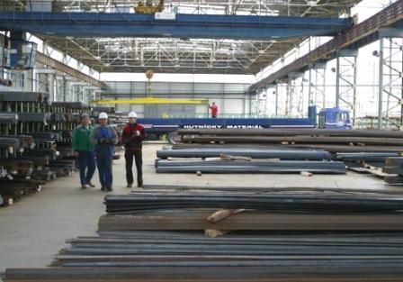 Ocelářské výrobky, tyčová a tvarová ocel, stavební díly Uh. Brod