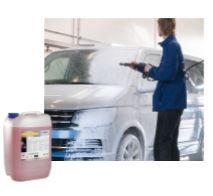 Autošampon pro použití v mycích linkách