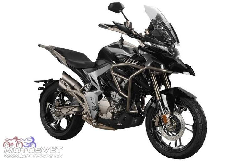 Enduro motocykl Zontes 310 T adventure Třebíč