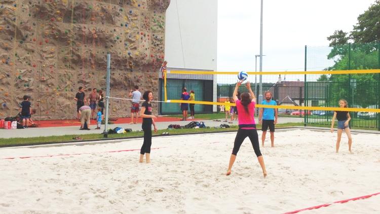 Plážový volejbal - venkovní multifunkční hřiště Ostrava