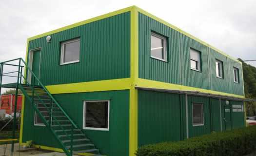 Ocelové konstrukce a mobilní obytné kontejnery pro tuzemsko i zahraničí, kompletní servis