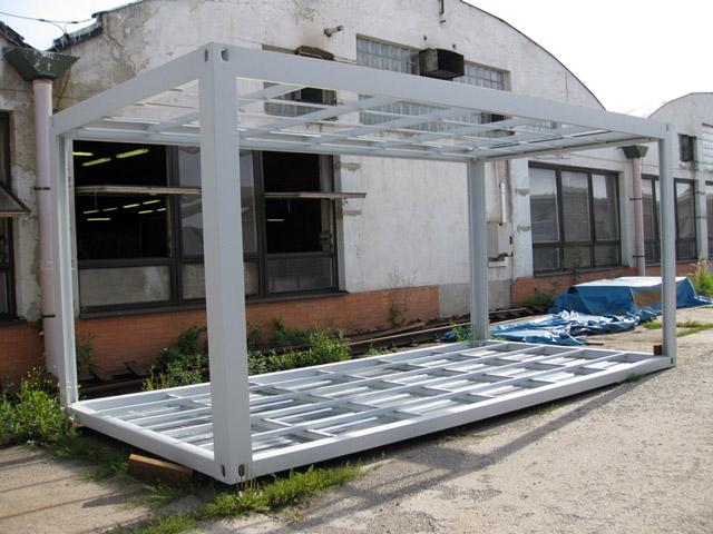Mobilní kontejnery s montáží na klíč i kompletním servisem, Otrokovice