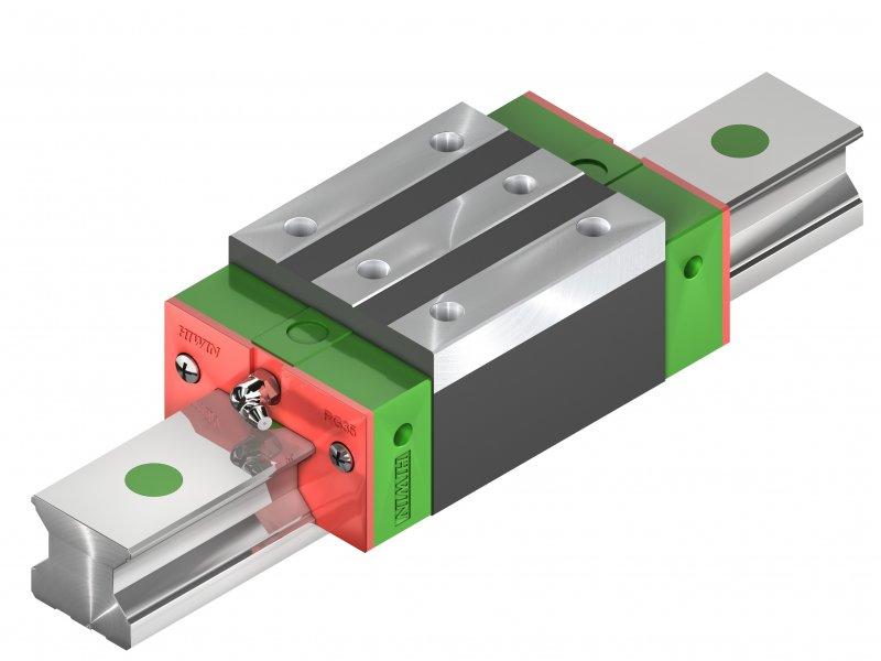 Lineární technika, kuličkové šrouby, vodící tyče, ložiska