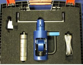 Odtrhový přístroj s měřící elektronikou