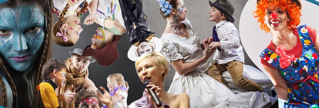 Divadlo Kejkle, zábava pro děti i dospělé, narozeninové oslavy s klaunem, malování na obličej