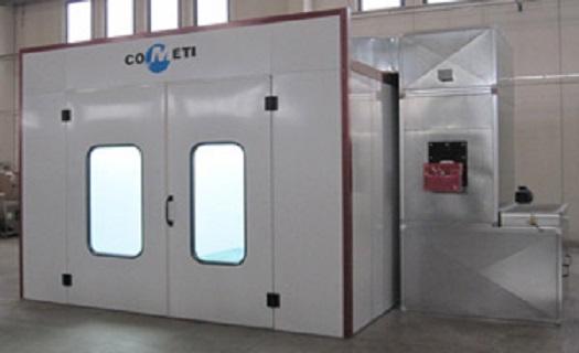 Vybavení provozů pro povrchové úpravy