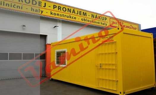 Kontejnery obytné, skladové i sanitární