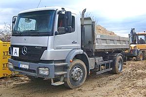 Spolehlivá kontejnerová přeprava sypkých materiálů, odvoz a likvidace odpadů